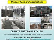 Commercial Evaporative Cooling System - Available at Climate Australia
